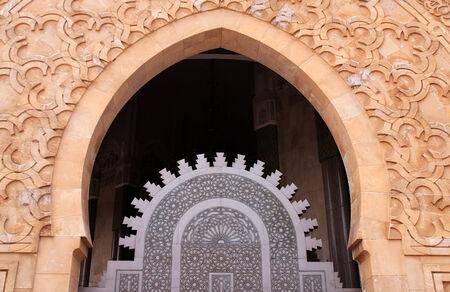Mosque Hassan II in Casablanca photo