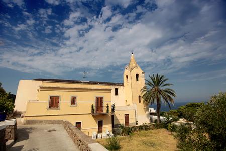 aeolian: Church in Aeolian island