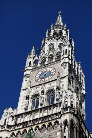 rathaus: New Town Hall (Neues Rathaus) in Munich, Germany