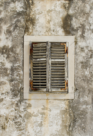 Window from Korcula, Croatia photo