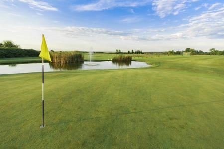Campo da golf Archivio Fotografico - 34643370
