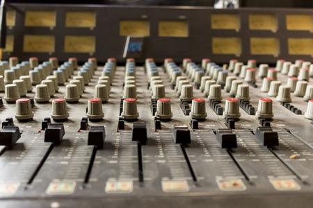 estudio de grabacion: Mezclador Soundboard