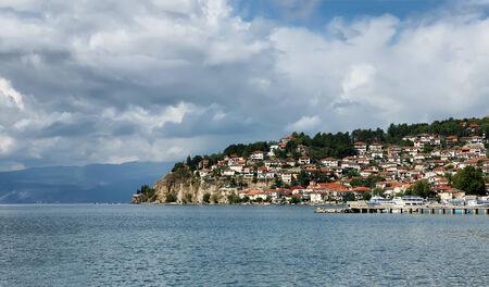 Ohrid Lake, Macedonia Stock Photo