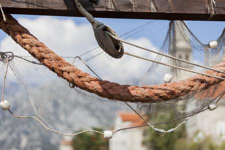 Boats rope photo