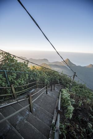 pada: Adams Peak in Sri Lanka