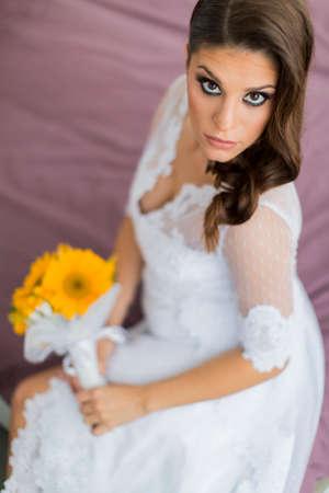 The bride photo