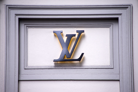 vuitton: SYDNEY, AUSTRALIA - FEBRUARY 9, 2015: View at Louis Vuitton shop in Sydney, Australia. Louis Vuitton is a French fashion house founded in 1854 and one of the world