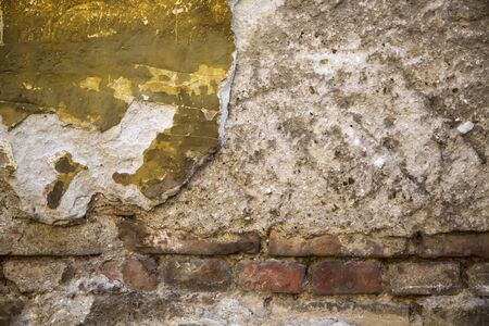 solidity: Old brick wall