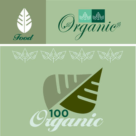 organic concept: Vector illustration of the organic concept