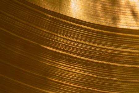 cymbal: Closeup detail of the cymbal Stock Photo