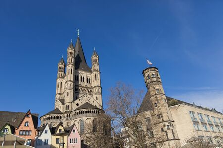 martin: Great St. Martin Church in Cologne, Germany