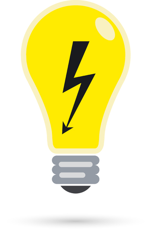 electric bulb: Vector illustration of the electric bulb