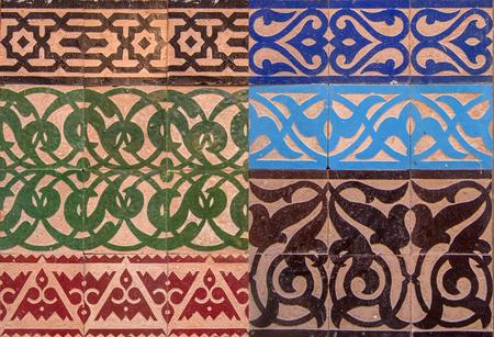 marrakesh: Arabic ornaments from Marrakesh, Morocco