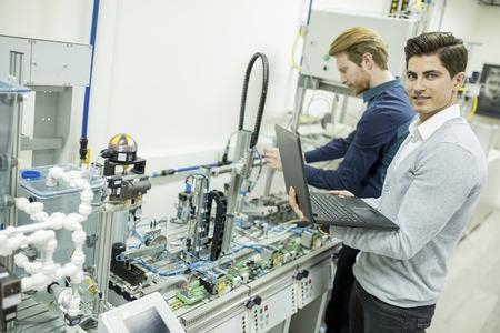 ingenieria industrial: Ingeniero en la fábrica