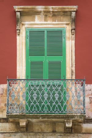 bari: Old window from Bari, Italy