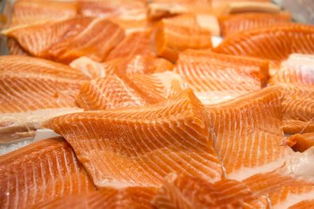 salmon filet: Salmon filet