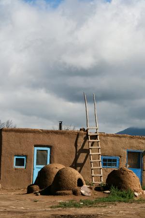 pueblo: Taos Pueblo in New Mexico, USA