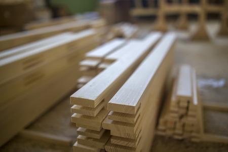 Fabbrica di legno Archivio Fotografico - 48238722