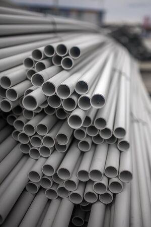 kunststoff rohr: Plastic pipe Lizenzfreie Bilder