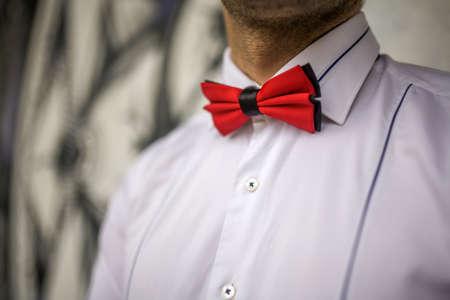 stylish man: Bowtie