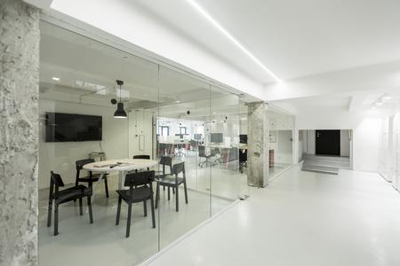 Bureau moderne d'intérieur Banque d'images