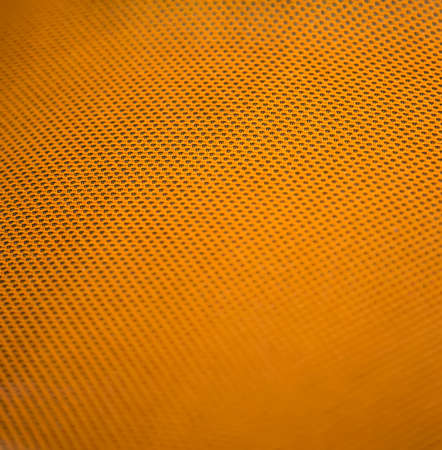 orange color: Closeup of the orange metal pattern