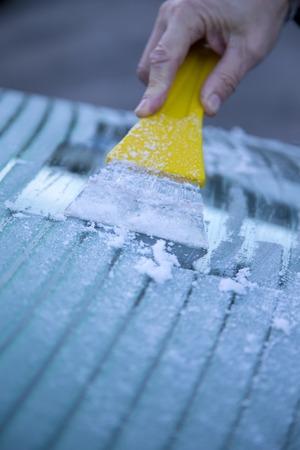 scraping: Frozen window