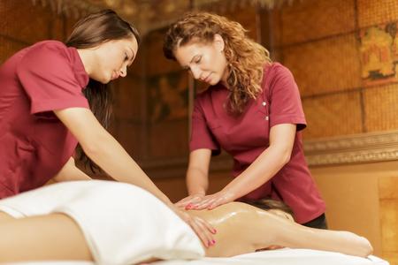 body work: Massage