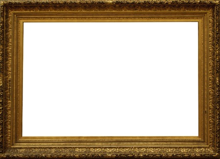 baroque picture frame: Frame Stock Photo