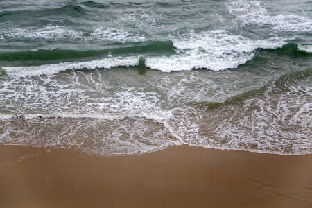 kerala: Varkala beach in Kerala state, India