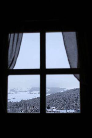 through window: View through window