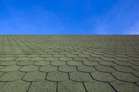 tile: Green tile on roof