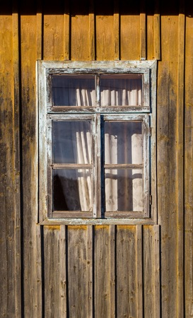 antique frames: Closed old wooden window