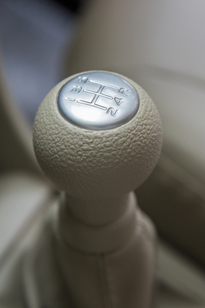 gearshift: Car gearshift