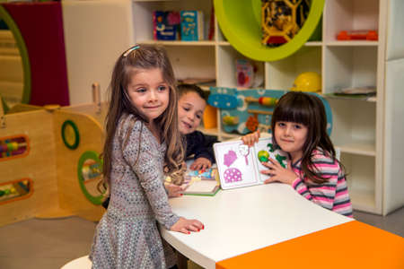 playroom: Children in the playroom