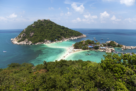 nangyuan: View at Koh Nangyuan island in Thailand