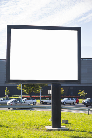 empty space: Empty billboard with copy space Stock Photo