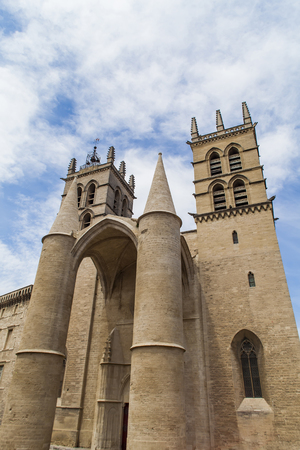 medieval medicine: Montpellier Cathedral in France