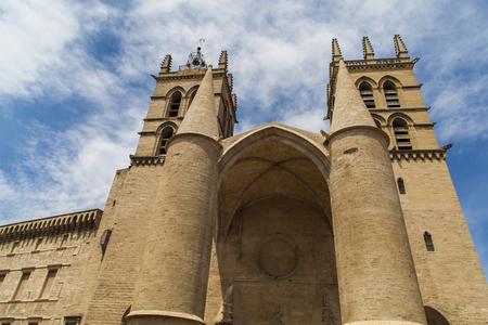 medieval medicine: Montpellier Cathedral in France