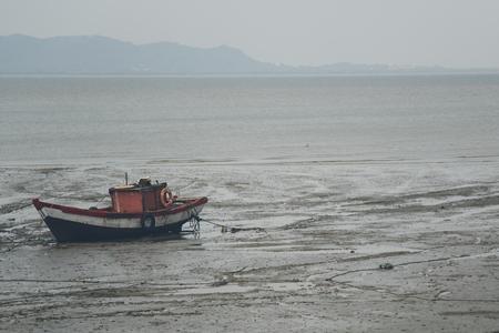 old ship: Old ship at Elephanta Island, Mumbai, India