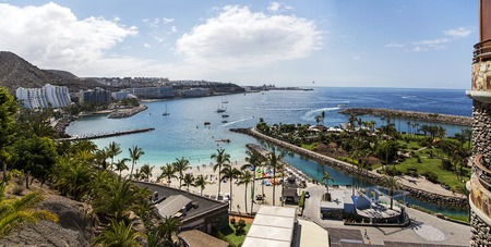 Panoramic view of the Gran Canaria island