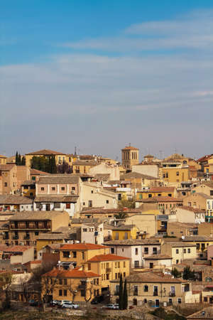 toledo: Cityscape view at town Toledo in Spain