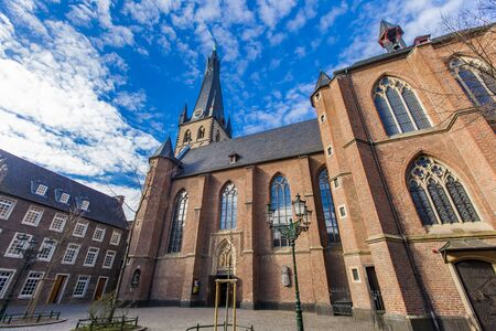 st german: St. Lambertus church in Dusseldorf, Germany Stock Photo