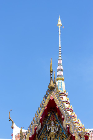 chalong: Detail from Wat Chalong temple in Thailand
