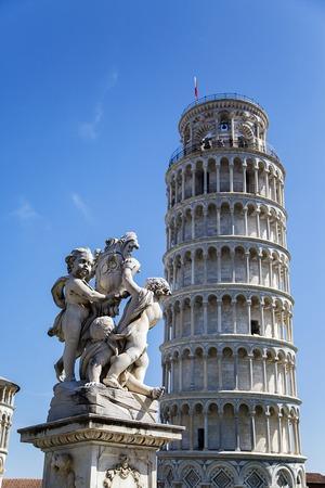 piazza dei miracoli: Detail of the Piazza dei Miracoli in Pisa, Italy
