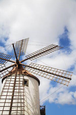 traditional windmill: Old traditional windmill from Gran Canaria, Spain