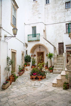 bari: Street in Bari, Italy