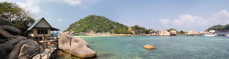 Nang-Yuan Wood Bridge Island in Thailand