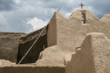 San Lorenzo de Picuris church in New Mexico
