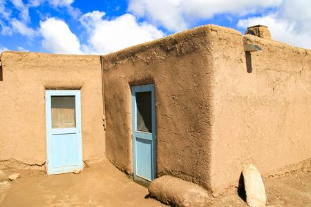 Taos Pueblo in New Mexico, USA